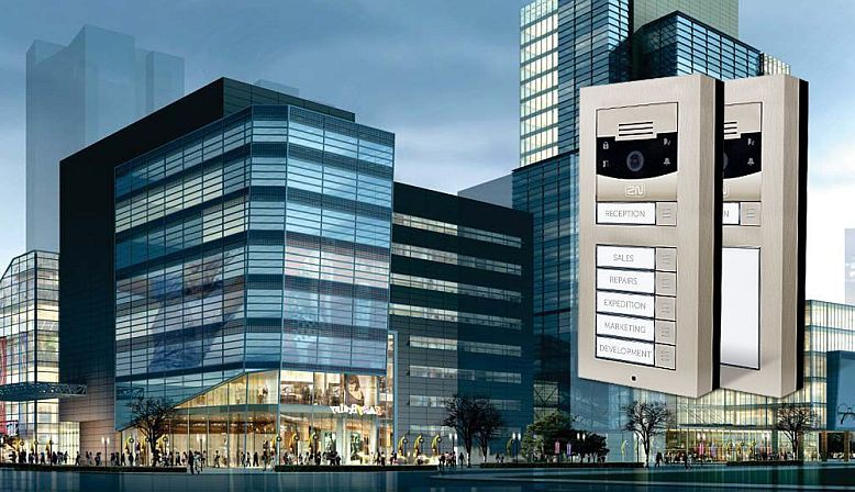 Interfonos para oficinas y centros de negocios