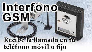 Interfonos inalámbrico por GSM