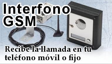 Interfonos inalámbrico por GSM
