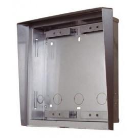 Visera y caja superficie Videoportero IP 2N Helios