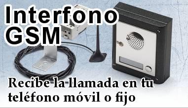 Interfonos inalàmbriccs per GSM